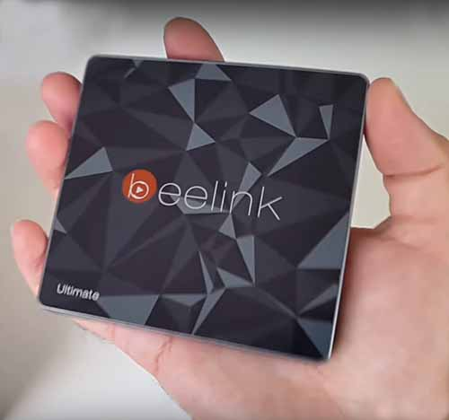Fits in the palm of your hand android box with optical output beelink gt1