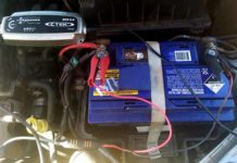 How to DeSulfate a car battery with a charger ford focus ctek