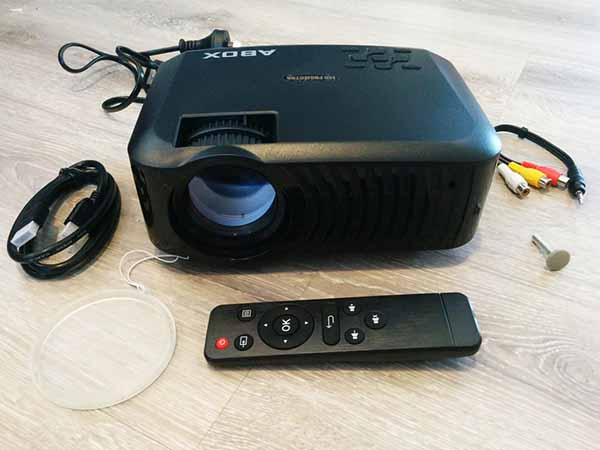 projector for bedroom ceiling viewing A2 abox review