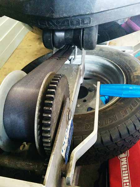 trailer winch for jet-ski