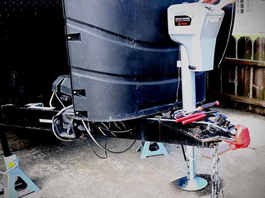 electric tongue jack installation procedure 5000 lbs