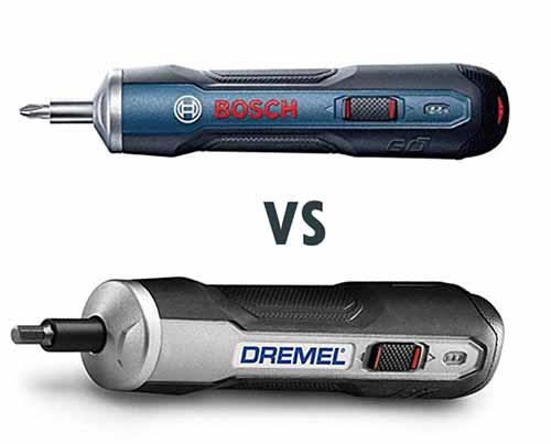 Bosch Go vs Dremel Go are they the same?