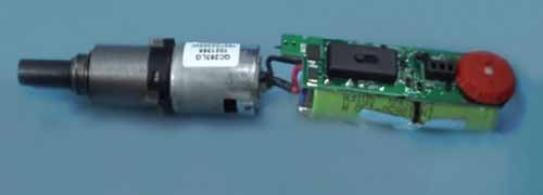 Bosch small electric screwdriver tear down internal battery and planetary gearbox