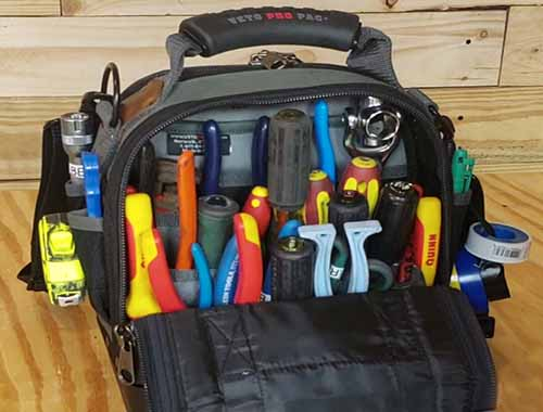 apprentice electrician tool bag