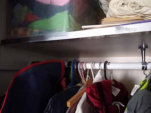 How to Fix Sagging Shelves With Aluminium C-Chanel