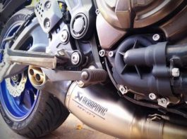 Best exhaust for MT 07 Akrapovic Ti