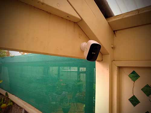 Eufy smart wireless security camera for renters