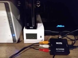 Wii to hdmi converter box