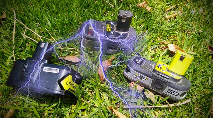 Ryobi battery not charging fix and flashing red