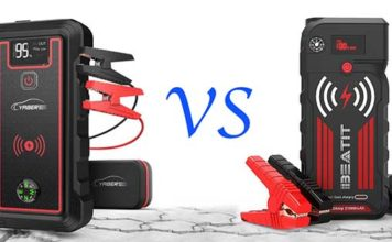 Best jump starter with wireless charging