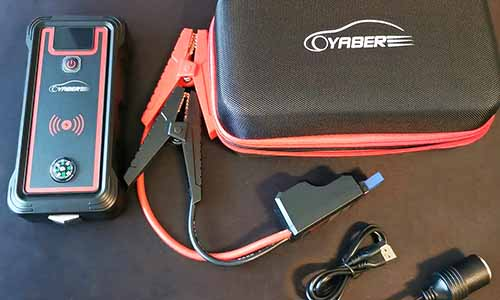 Best Jump Starter with Wireless Charging Yaber 2500A