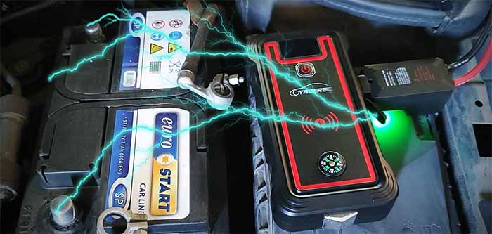 Yaber Best Jump Starter with  Wireless Charging