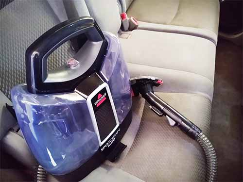 how to get out stains on car seats