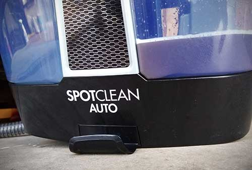 How to remove blood stain from car seat using spotclean Bissell