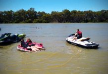 jet-ski accessories for towable tubing biscuit