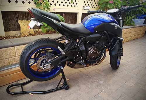 Cheap motorcycle stand for Yamaha MT07