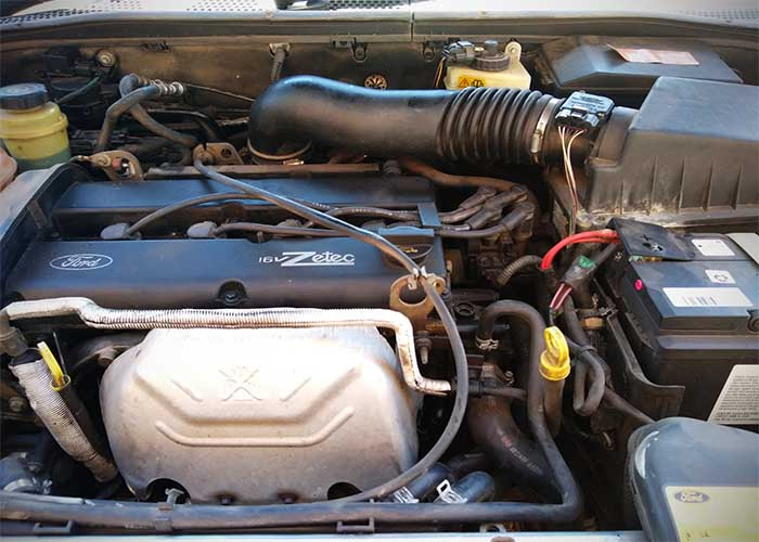 Ford Focus Rough Idle with No Check Engine Light 2003