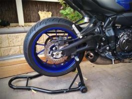 Cheap paddock stand rear Yamaha MT-07