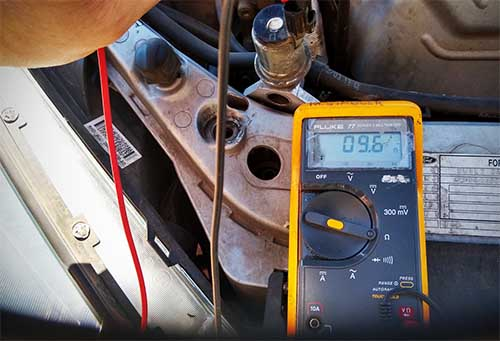 Test idle control valve ford focus with multimeter