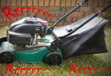 lawn mower runs for a while then dies fix