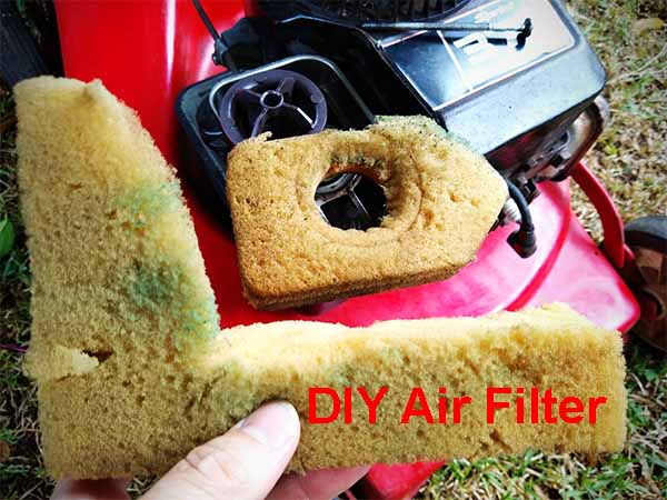 small engine foam air filter material