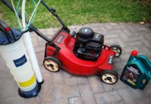 How to drain oil from Briggs and Stratton lawn mower