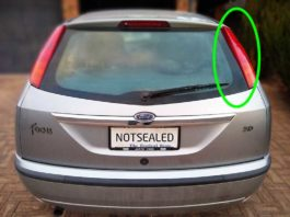 2003 Ford Focus Tail Light Bulb Replacement Procedure Hatchback.