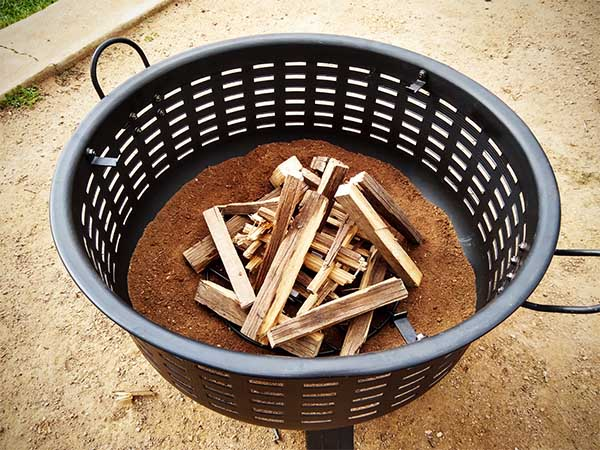 best wood for fire pit no smoke
