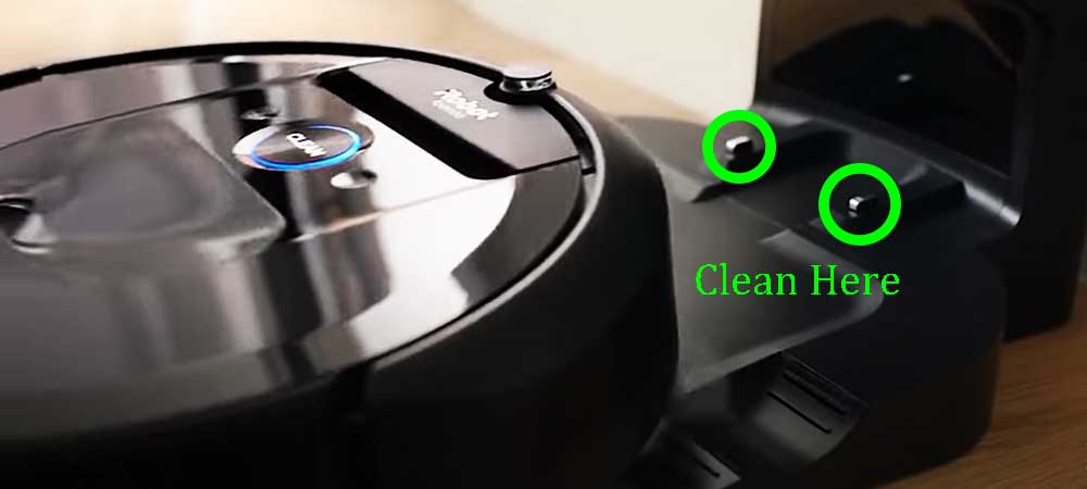 What do you do if your Roomba won't charge?